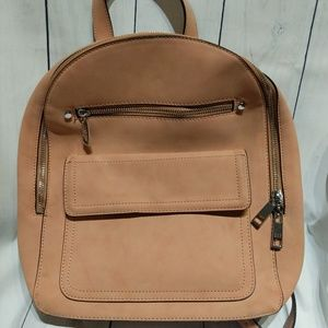 Gap suede purse backpack